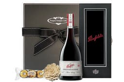 Penfolds Grandfather Tawny Port in the Penfolds case beautifully packaged in our signature Pamper Hamper Gifts gift box