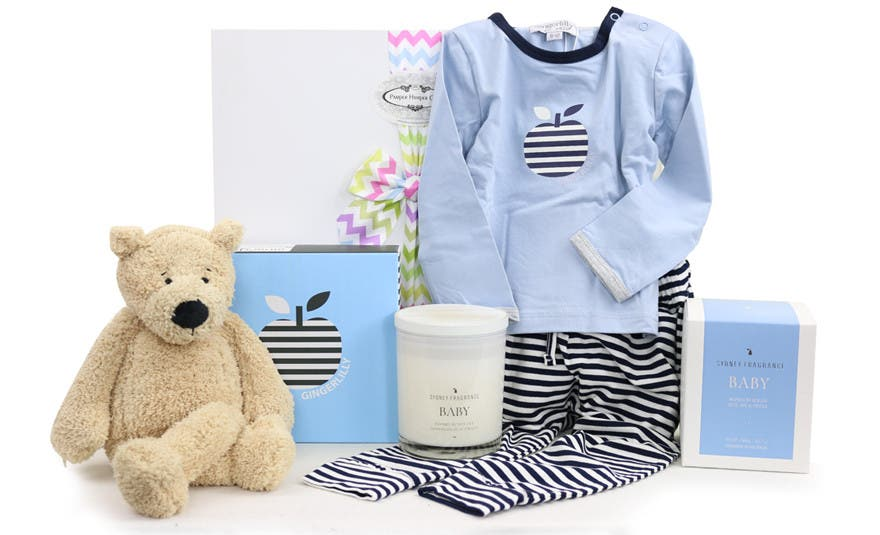 Image of Bear in There Boy Hamper