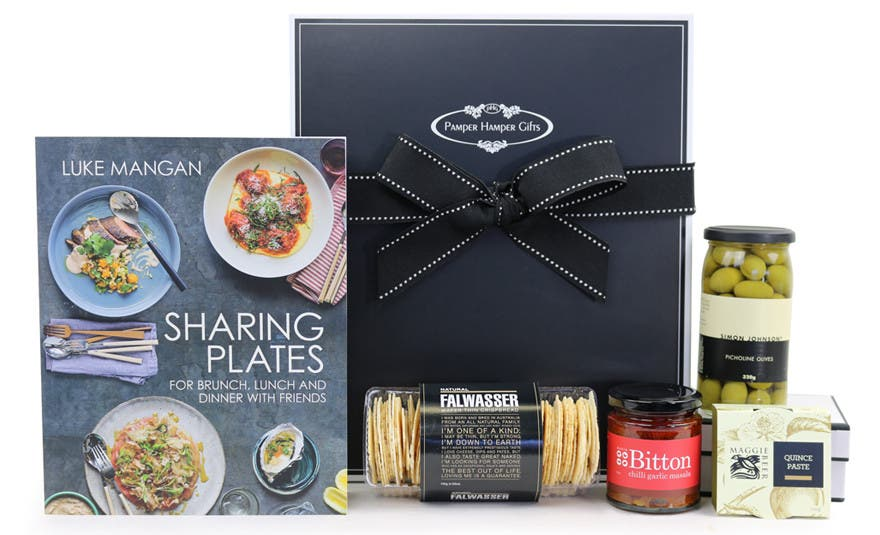 Image of Sharing Plates with Luke Mangan Gourmet Hamper