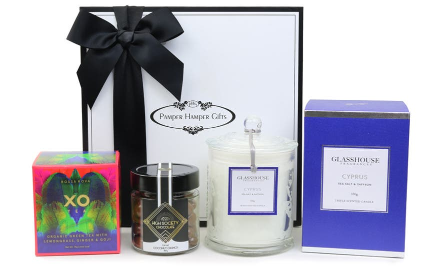 Image of The Glasshouse Cyprus Tea Hamper