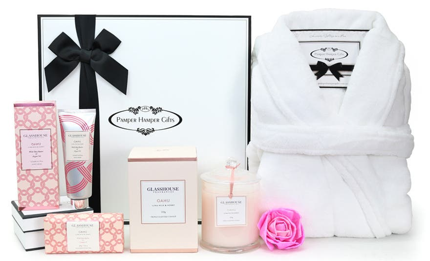Image of The Glasshouse Oahu Relaxation Pamper Hamper
