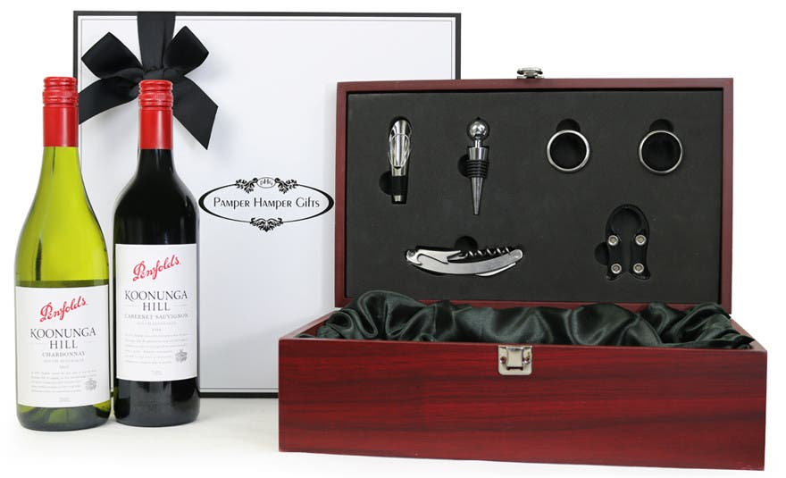 Image of The Penfolds Duo Wine Box Gift Hamper