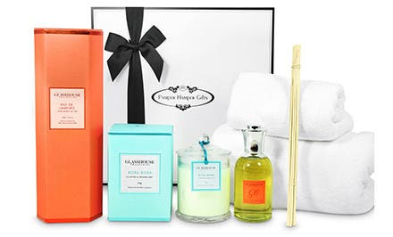Image of Indulgent Scents of Style Pamper Hamper