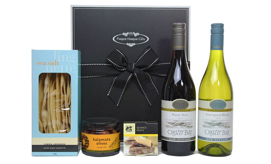 Image of The Oyster Bay Wine Gourmet Hamper