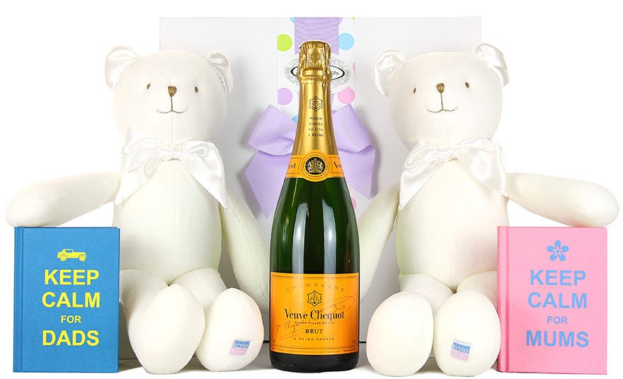 Image of Welcome the Twins to the world ! Newborn Baby Hamper